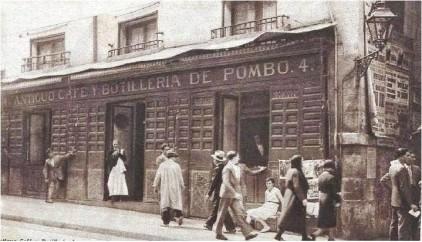 El mítico Café de Pombo de Madrid
