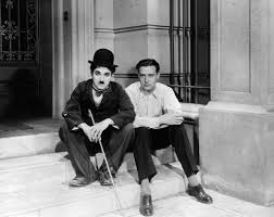 Edgar Neville con Charles Chaplin